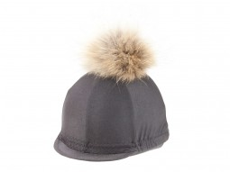 Gibson Race-Wear Lycra Cap Cover with Fur Bobble