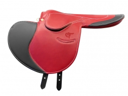 Gibson Half Tree Exercise Saddle With Holberg Flaps and Seat Trim