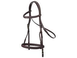 Zilco Synthetic Training Bridle - Brown