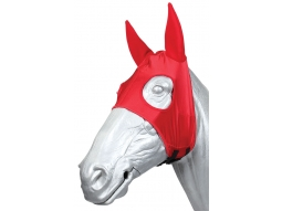 Zilco Red Race Hood with neoprene ears - BHA Approved