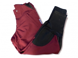 Hyland Maroon 3/4 leg cotton breeches