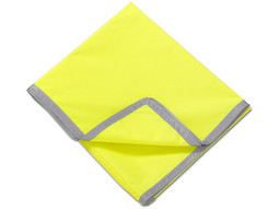 Fluorescent Saddle Cloth With Reflective Strip